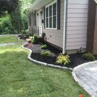 Hattoy's residential landscaping walkway