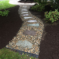 Hattoys installs paver walkways