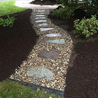 Hattoys installs paver walkways