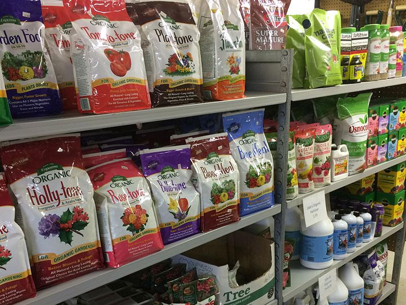 Hattoy's Garden Center stocks gardening supplies