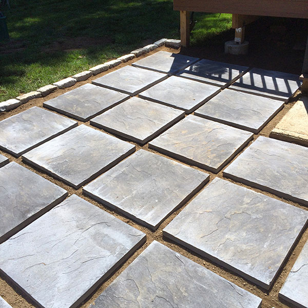 Hattoy's delivers bulk patio pavers